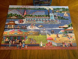 Hometown Collection 1000-piece Heronim At the Lake