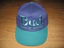 Bud King of Beers Budweiser Vintage Hat OSFA