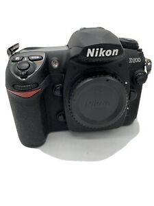 Nikon D200 SLR Digital Camera Body Only - Black
