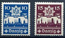 GERMANY DANZIG 1937 SCOTT 219-220 PERFECT MNH AIR DEFENSE LEAGUE SET