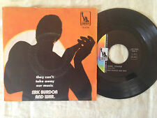 Eric Burdon And War – They Can't Take Away Our Music / Hom - 7' Vinile 45 giri