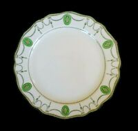 Beautiful Royal Doulton Countess Green Rim Dinner Plate Circa 1920