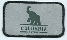 Columbia Rovers Portland OR employee patch 2-1/2 X 4-3/8 #519