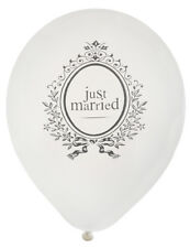 Latexballons Just Married 8er 23 Cm