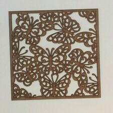 butterflies Decorative Screening Square Radiator Grille MDF 3mm and 6mm sp3