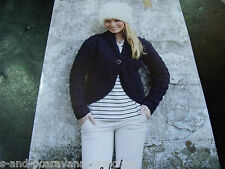 Hayfield Chunky with wool Knitting pattern number 9840 Jacket