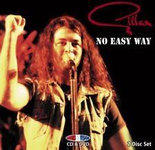 GILLAN - NO EASY WAY-LIVE HAMMERSMITH & EDINBURGH 1980  CD+DVD NEW