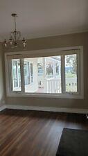 Double Glazed Awning Window, White Aluminium
