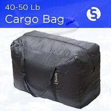 Cargo Duffle Travel Bag Tote Maletin de viaje Ligero 50 Lb Cap Black