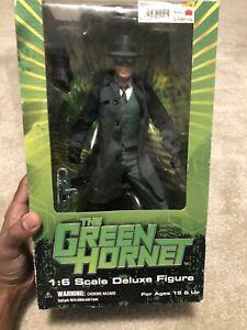 """Rare Mezco Green Hornet 12"""" Deluxe Action Figure superhero television"""