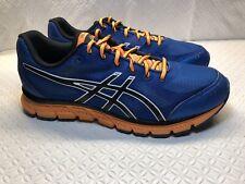 Asics Gel Flash Men's Blue/Orange Running Shoes T2JON Size-8