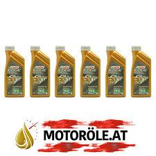 6x1 Liter Castrol Supercar 10W-60 Titanium FST Motoröl ACEA A3/B4, BMW M-Models