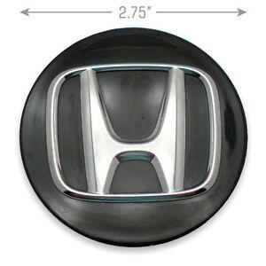 Honda Center Cap Hubcap OEM Honda Accord Civic CRV 44742-TR3-A01 Black Wheel OEM