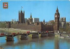 BR12601 London The Houses of parliament and Westminister Bridge   uk