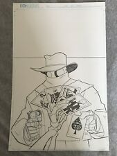 Atomic Robo: RSA #3 Cover Original Art Scott Wegener The Shadow Homage