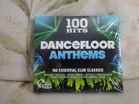 Various Artists -100 Hits -Dancefloor Anthems CD (2016) - New - free Uk postage