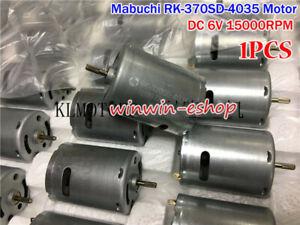 MABUCHI RK-370SD-4035 Motor DC 6V 15000RPM High Speed Carbon Brush 370 Motor DIY