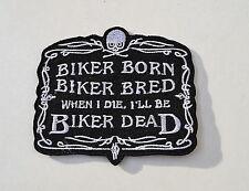 Biker Breed,Patch,Aufnäher,Aufbügler,Badge,Iron On,Badge,Biker Born