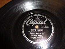 40s Capitol 78/Johnny Mercer&The Pied Pipers/E