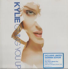 KYLIE MINOGUE - GIVING YOU UP - RARE EXCLUSIVE LIMITED GERMAN EDITION CD
