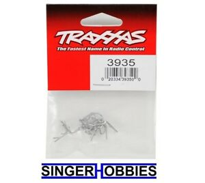 Traxxas 3935 Body clip mounting clip angled 90-degree (10) NEW IN PACKAGE TRA1