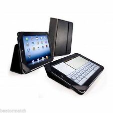 Tuff Luv Faux Leather Smart Case Stasis Stand Cover Apple iPad 2 3 4 Air Black