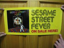 Sesame Street Fever Poster Grover Ernie Bert Cookie Monster Saturday Night Fever