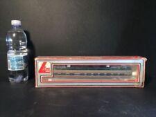Carrozze passeggeri Lima grigia in plastica per modellismo ferroviario scala H0