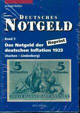 Deutsches Notgeld.Band 7 A-k und L-Z 2 Bände Reprint