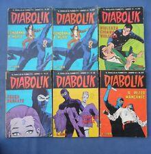 LOTTO 41 DIABOLIK-1966-1967-1968-1969-1970-1971-1972-ANNI V-VI-VII-VIII-IX-X-XI