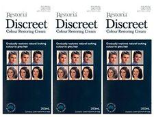 HOT!! Restoria Discreet Color Restoring Cream Natural Look Hair Color 250ml