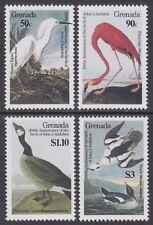 GRENADA - 1986 Birth Bicentenary of John J Audubon (4v) - UM / MNH