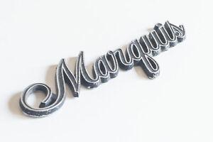 Original Classic Ford/Mercury Marquis Script Badge– 7 Inch