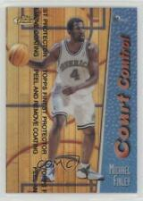 1998-99 Topps Finest Court Control Refractors Proofs Michael Finley #CC8
