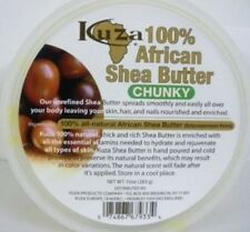100% PURE AFRICAN SHEA BUTTER CHUNKY 283gm FOR SKIN, HAIR & NAILS BY KUZA
