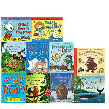 Julia Donaldson 10 Picture Books Collection Set Pack Monkey Puzzle,Toddle Waddle