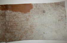 "Brown Peppered Hair On Cowhide HOH Leather 11""x19"" avg 1.8mm thick #7984"