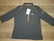 AUDI COLLECTION R8 LMS CUP POLO  SHIRT SIZE XXL NEW WITH TAG EXQUISITE QUALITY.!