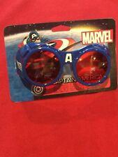 Marvel Captain America Cosplay Dress Up Glasses NEW MIP Elope