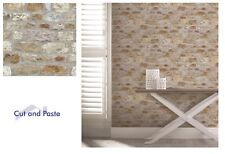 6 X Rolls Arthouse Country Stone Wallpaper 696500