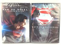Man of Steel & Batman v Superman: Dawn of Justice DVD MOVIES French Version Inc