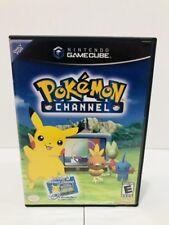 Pokémon Channel (Nintendo GameCube, 2003) Free Shipping!!!
