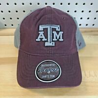 Texas A&M Aggies NCAA College University Zephyr Strap Back Low Pro Hat NWT Cap
