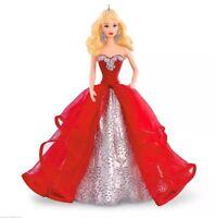 Holiday Barbie 2015 Hallmark Ornament 1st in Series  Mattel  Toys - Dolls  Red
