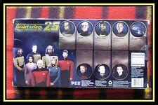 PEZ - STAR TREK SET Dispensers  SET 25th Anniversary Edition