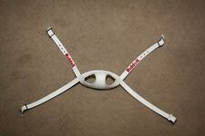 Riddell Soft Cup 4 pt High Football Helmet Chinstrap Worn New From 1990 2000's