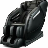 Zero Gravity Full Body Massage Chair Recliner Built-in Bluetooth Neck Shoulder
