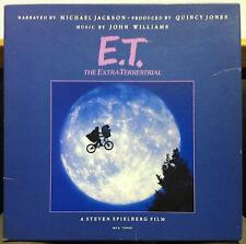 Michael Jackson John Williams E.T. LP Mint- USA 1982 MCA-70000 w/Poster & Book
