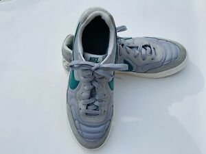 Mens Nike Tiempo Trainer Running Shoes Wolf Grey Mystic Green 9