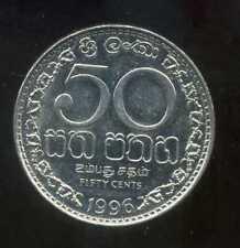 SRI LANKA  50 cents 1996  ( bis )
